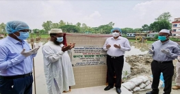 বগুড়ায় ১৬ কোটি টাকা ব্যয়ে মডেল মসজিদের নির্মাণ কাজ শুরু
