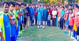 শাজাহানপুরে শেখ মনি ফুটবল টুর্নামেন্টের উদ্বোধন