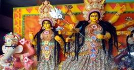 শাজাহানপুরে ৫৪ মন্ডপে শারদীয়া দুর্গাপূজার সকল প্রস্তুতি সম্পন্ন