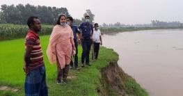 শেরপুরে ভ্রাম্যমাণ আদালত আসছে শুনেই পালাল বালু উত্তোলকারীরা
