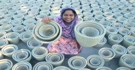 বগুড়ার নারীদের তৈরি হস্তপণ্য রপ্তানি হচ্ছে বিশ্বের ৫০টি দেশে
