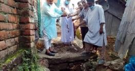 শাজাহানপুরে এডিপি'র অর্থায়নে ড্রেন নির্মাণের উদ্বোধন