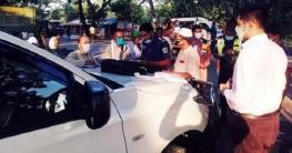 বগুড়ায় সড়ক পরিবহণ আইনে নয় জনের ৪৫ হাজার টাকা জরিমানা