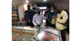 বগুড়ায় 'টাচ এন্ড টেক' এ অভিযান, ২০ হাজার টাকা জরিমানা