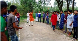 শাজাহানপুরে চাঙ্গুইর যুব সমাজ শর্টপিচ ক্রিকেটের উদ্বোধন