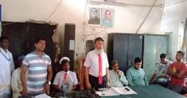 সোলাতলা স্টেশন মাস্টার আব্দুল হামিদ বাবলার অবসরজনিত সংবর্ধনা