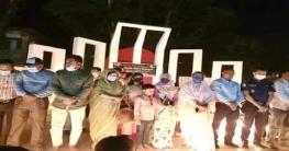 সোনাতলায় ২৫শে মার্চ গণহত্যা দিবস উপলক্ষে মোমবাতি প্রজ্বলন