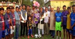 শাজাহানপুরে ফুটবলে  তরুণ সংঘ চ্যাম্পিয়ন
