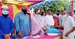 সোনাতলায় ৩টি ইউনিয়নে প্রধানমন্ত্রীর উপহার ভিজিএফ'র চাল বিতরণ