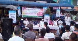 দুপচাঁচিয়া পৌর এলাকায় ট্রাফিক ব্যবস্থার উদ্বোধন