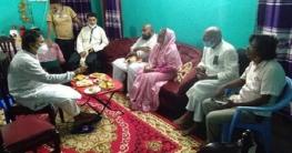 প্রেসক্লাবের সা: সম্পাদকের পরিবারকে সমবেদনা জানালেন এমপি শিল্পী