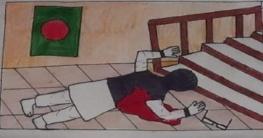 বগুড়ায় চিত্রাঙ্কন প্রতিযোগীতায় ১ম হয়েছে ৩য় শ্রেনির ছাত্র স্বাক্ষর