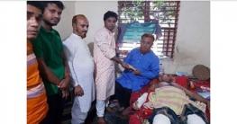 শিবগঞ্জে কৃষক লীগ নেতা বিপুলের চিকিৎসার জন্য আর্থিক সহায়তা প্রদান