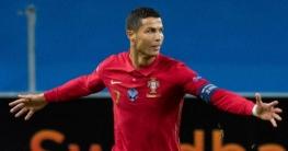 আন্তর্জাতিক ফুটবলে সর্বোচ্চ গোলের রেকর্ড এখন শুধুই রোনালদোর