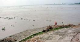 বগুড়ায় বিপদসীমা অতিক্রম করেছে যমুনার পানি