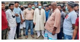 গাবতলীতে রাস্তার সংস্কার কাজ পরিদর্শন করলেন রবিন খান