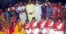 নন্দীগ্রামে নাচে-গানে কারাম উৎসব উদযাপন